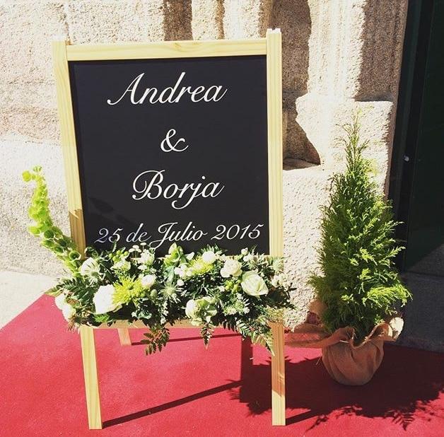 Pizarra Ikea boda-Love Lovely