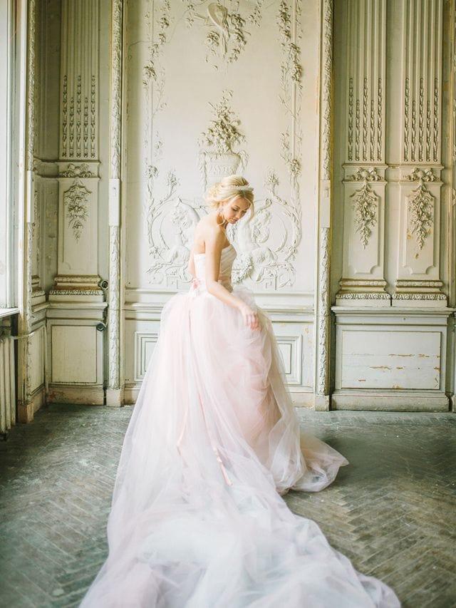 Vestido de novia rosa-Love Lovely