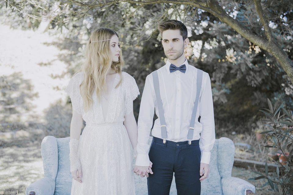 Vestido de novia vintage-Love Lovely