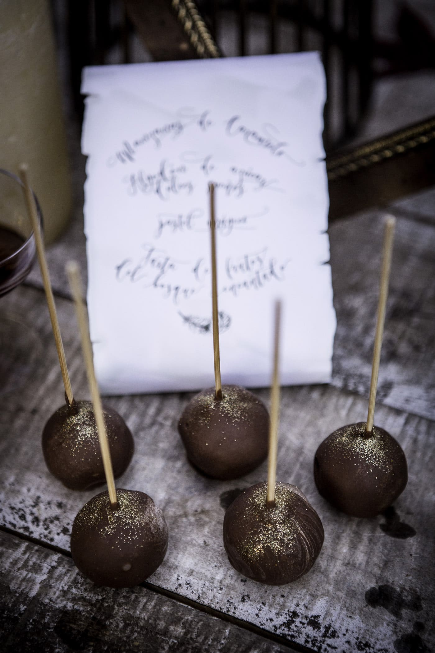 Cakepops para eventos-Love Lovely