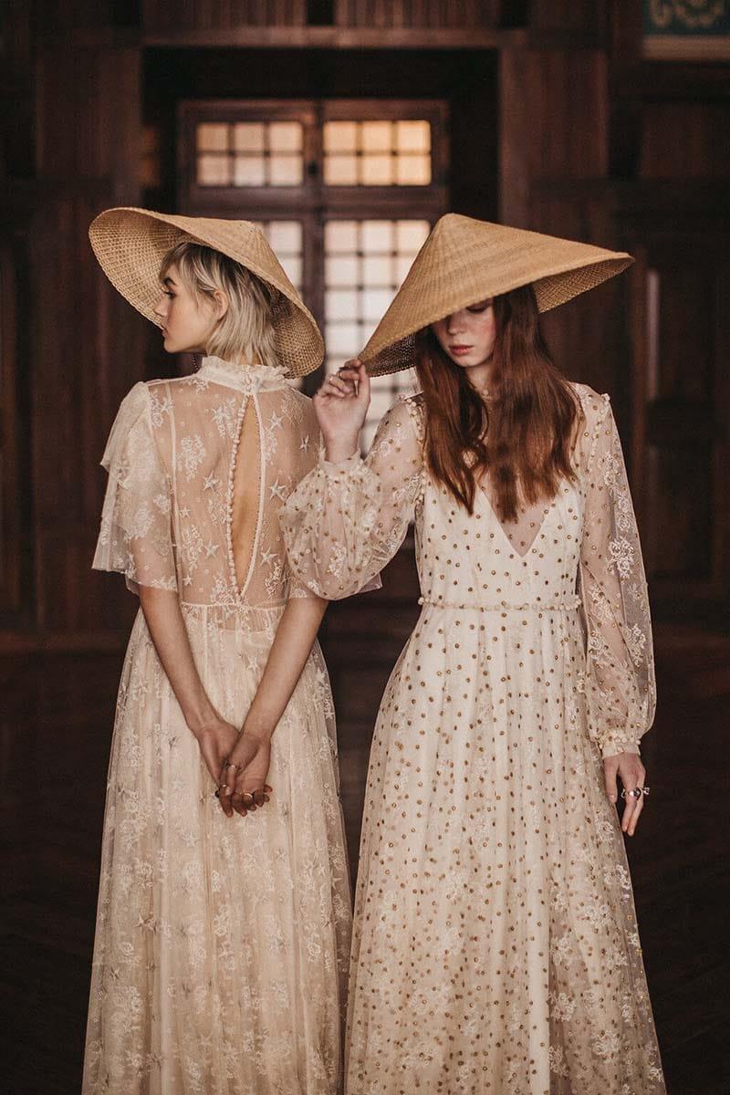 vestidos de novia vintage con bordados