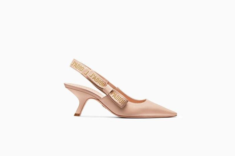 Zapatos para novia en rosa empolvado