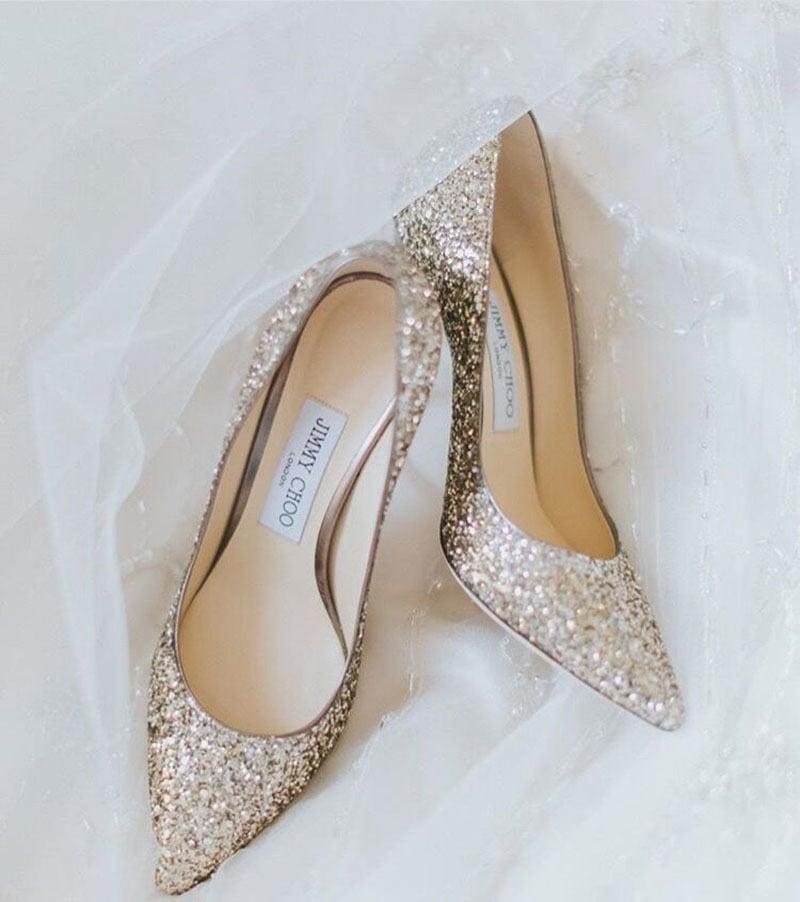 Zapatos jimmy Choo para novia