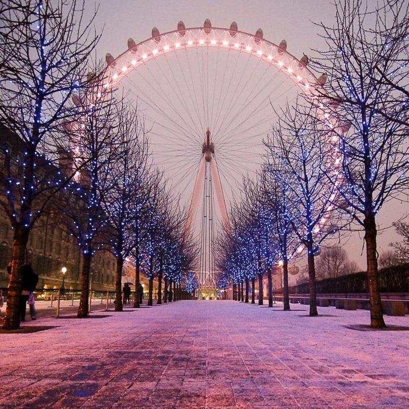 Mercadillos navideños de cuento. Noria Londres