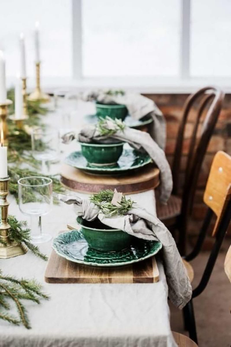 Decora la mesa esta navidad. Detalles cuencos