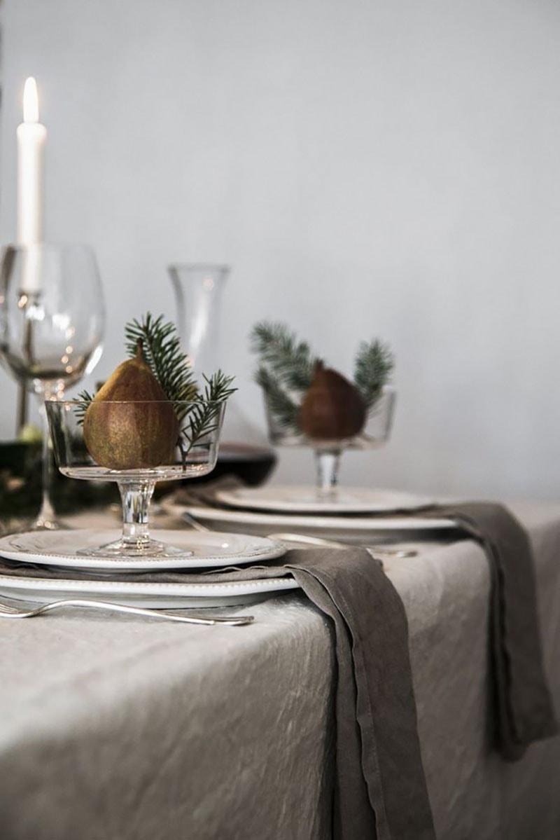 Decora la mesa esta navidad. Detalles copa