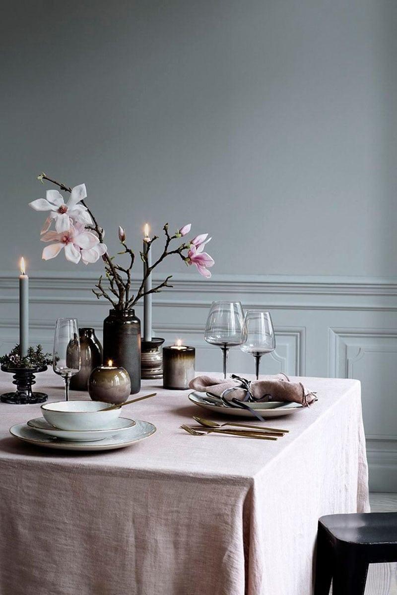 Decora la mesa esta navidad. Flores a mesa