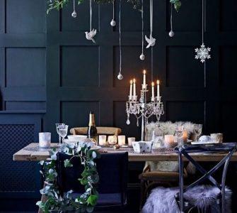 Decora la mesa esta navidad