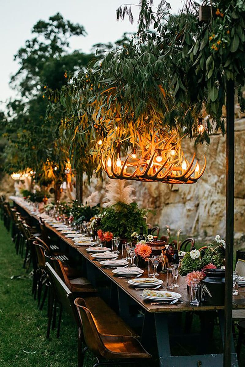 Tendencias deco bodas. Lamparas